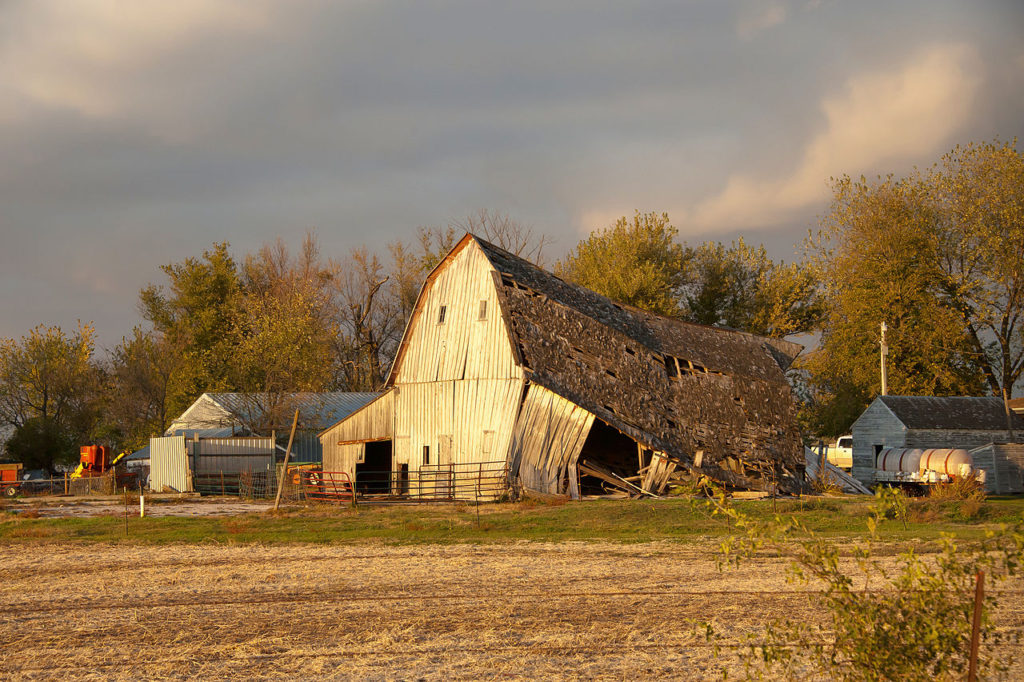 Barn In Story COunty Iowa
