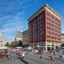 2016 Preservation at its Best, Residential: The Randolph.  Exterior view during Farmer's Market